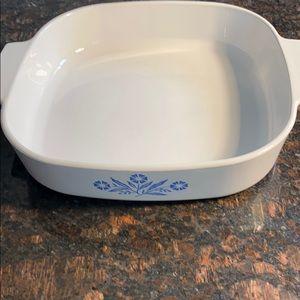 1 Corning Ware Cornflower 2.5 qt A-10-B Baking Pan